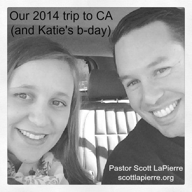 Our 2014 trip to CA