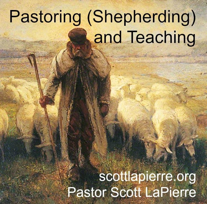 pastoring (speherding) and teaching