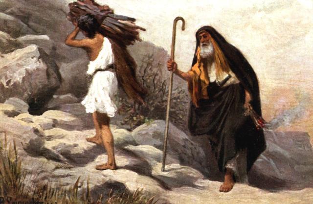 01022001-RLW-Genesis-22-1-Abraham-and-Isaac-climbing-Mt-Moriah