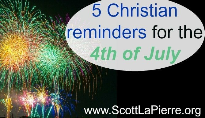 The 4th of July contains great reminders. As Christians we enjoy many wonderful freedoms, but only because Jesus was willing to give up His freedom for us.