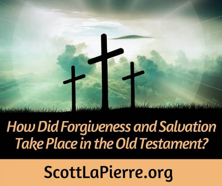 How Did Salvation and Forgiveness Take Place in the Old Testament?
