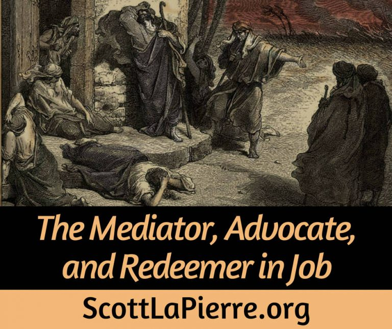 The Mediator, Advocate, and Redeemer in Job