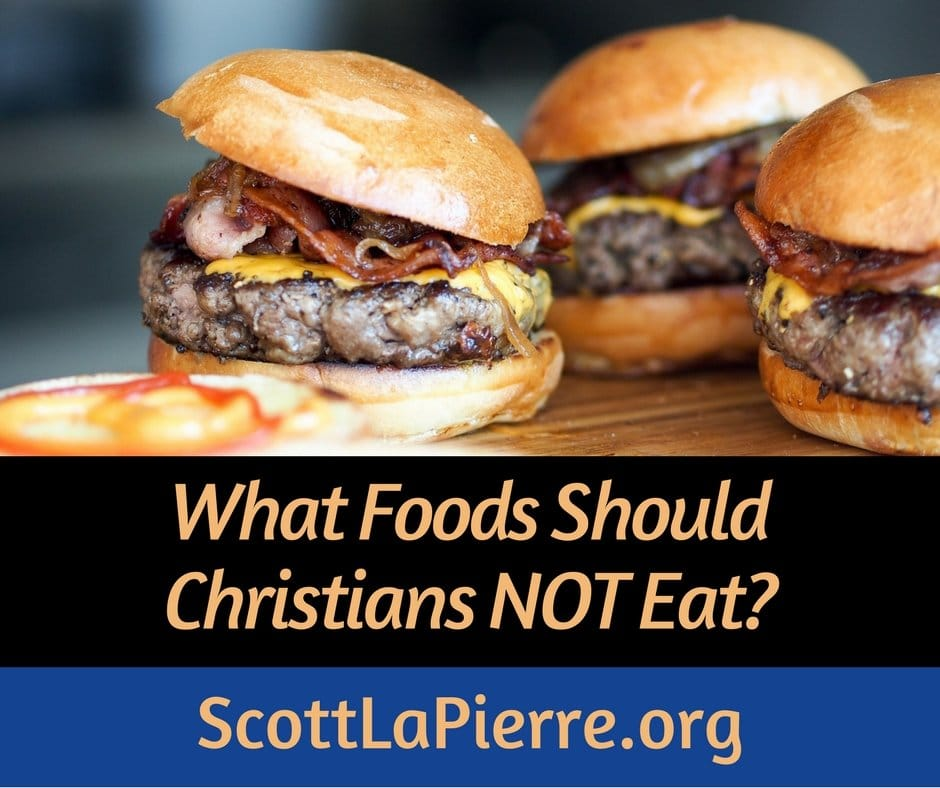 Are there foods Christians should not eat? The New Testament is overwhelmingly clear that believers have liberty in Christ to eat any foods.