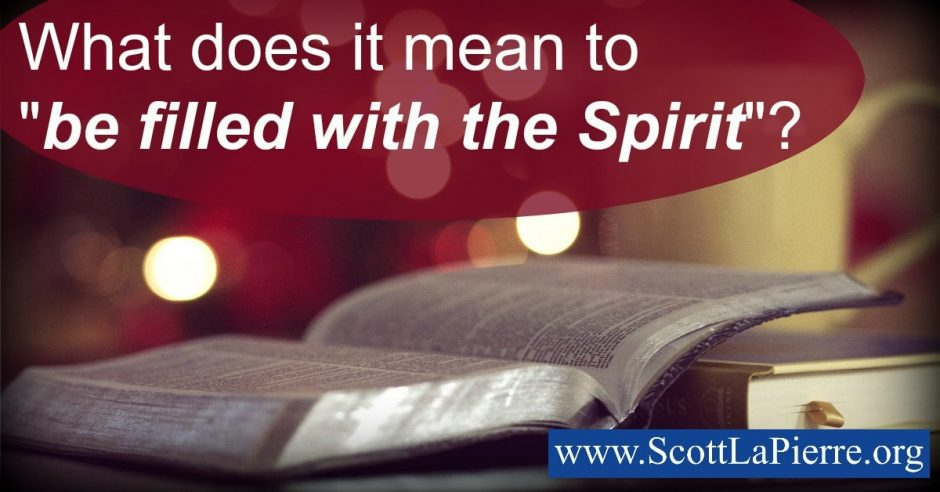 "What does it mean to be ""filled with the Spirit""? For many people their church background determines their answer. But what doe Scripture say?"