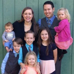 Scott LaPierre, author of Marriage God's Way, with his family