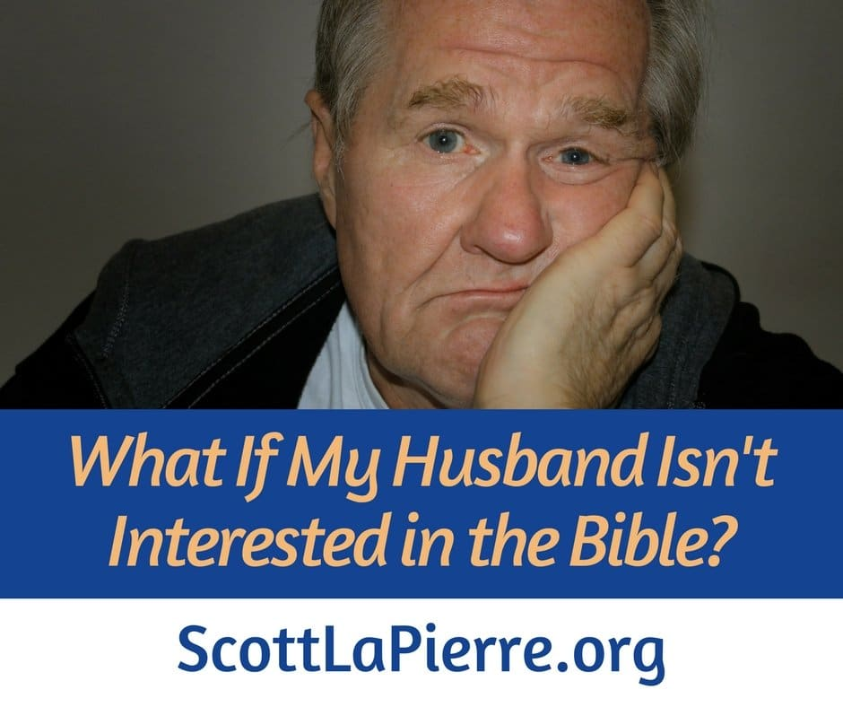 What if my husband isn't interested in the Bible?
