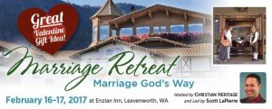 Christian Heritage Marriage Conference flier