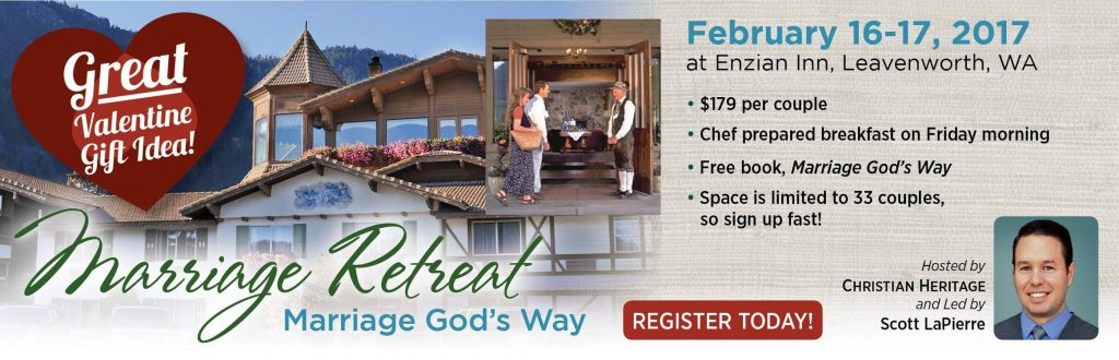 Marriage God's Way Conference flier