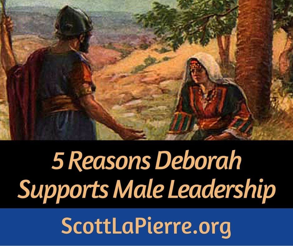 Deborah was a judge. Does her position support female leadership? There are actually a number of reasons she supports God's pattern of male leadership.