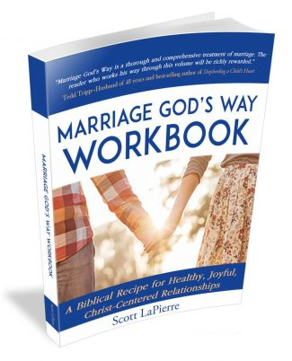 Marriage God's Way Workbook by Scott LaPierre 3D cover