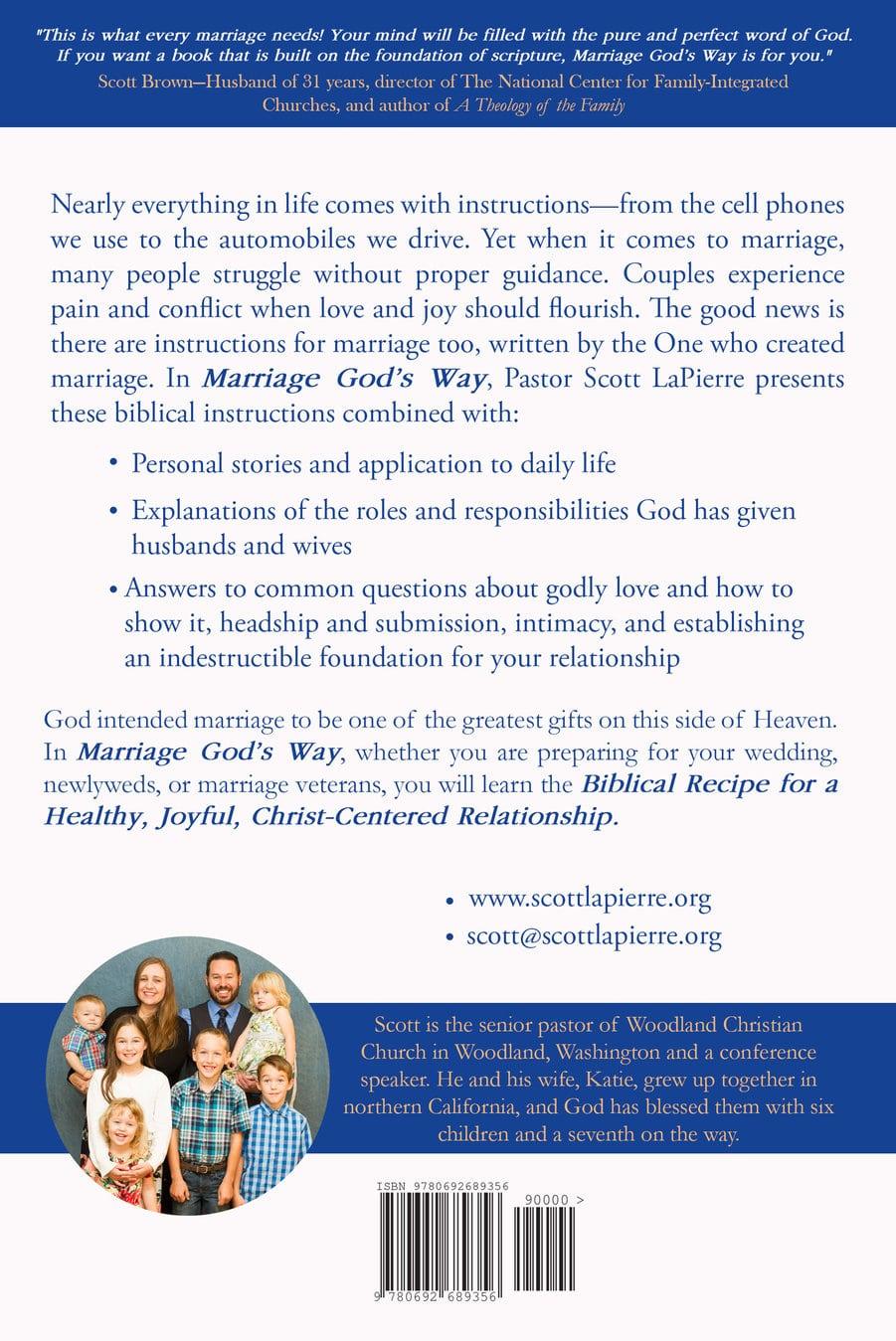 Marriage God's Way—20% off - Scott LaPierre