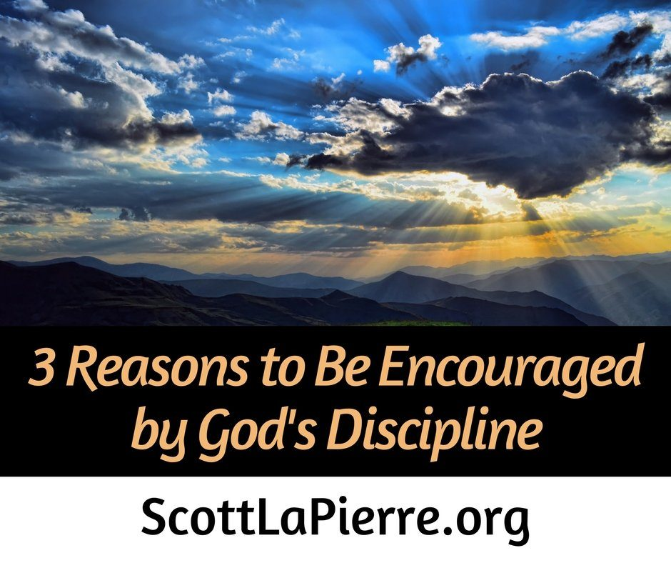 "Hebrews 12:11 says, ""God's discipline seems painful rather than pleasant."" Chastening can be discouraging, but there are reasons to be encouraged by it."