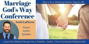 Pastor Scott LaPierre enjoys speaking at conferences and other events.