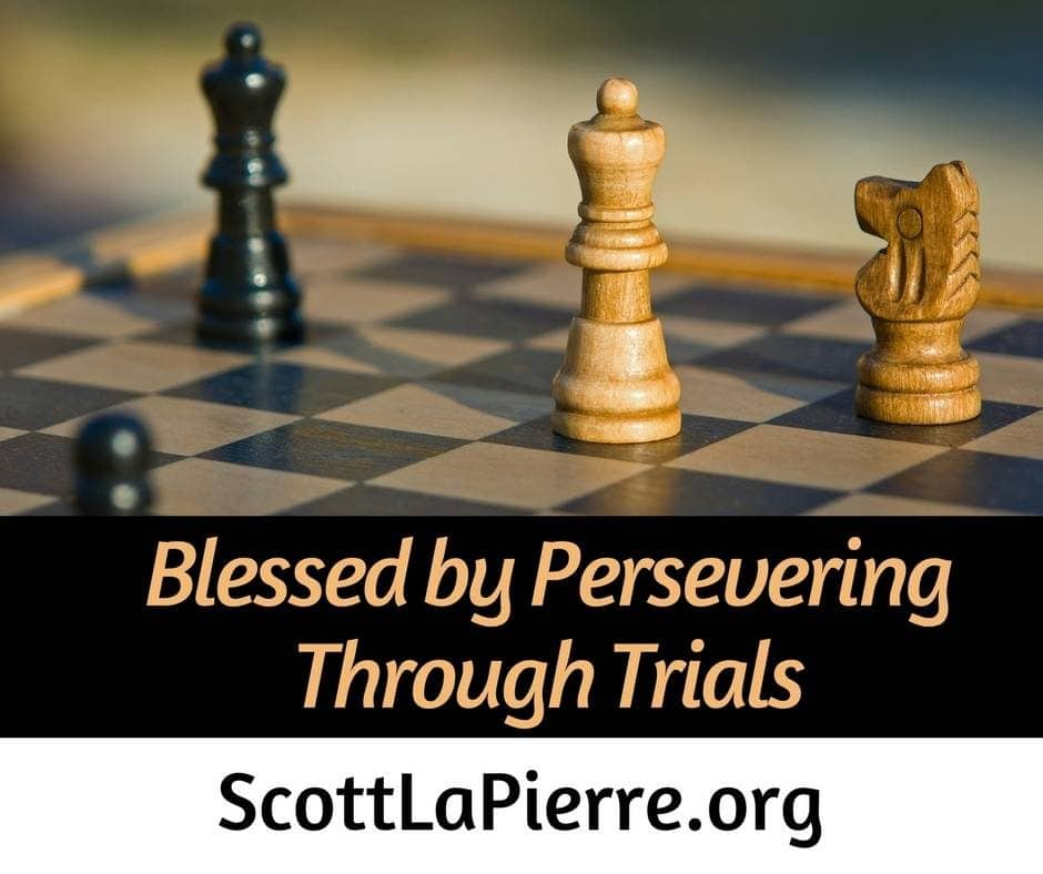 The blessings from persevering through trials encourage us when we experience them. The greatest blessing for persevering is eternal life.