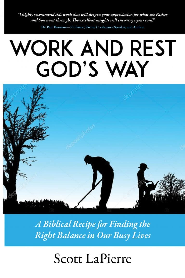 Sample Cover for Work and Rest God's Way