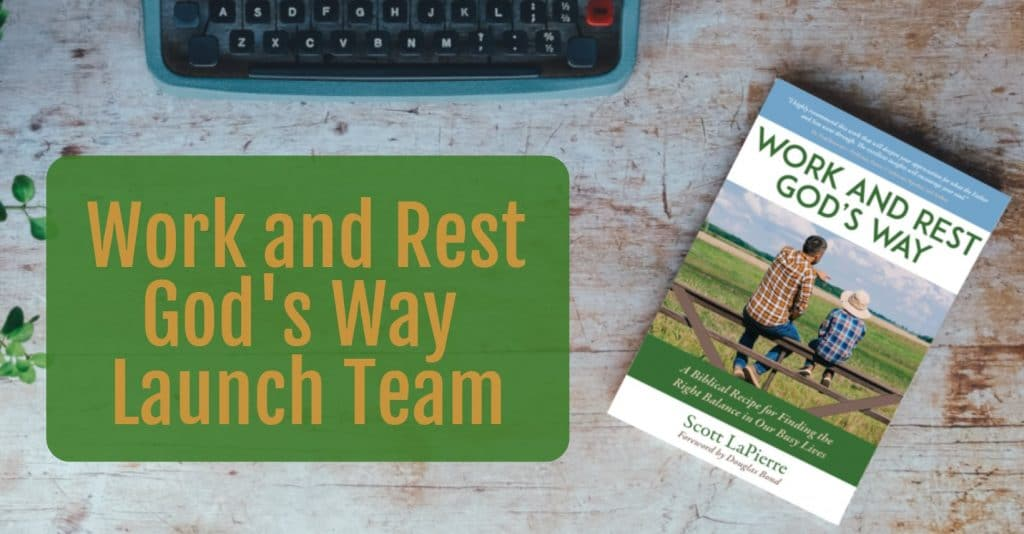 Work and Rest God's Way and Update on Finances God's Way