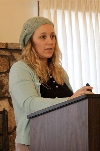 Katie LaPierre also enjoys speaking at ladies' conferences